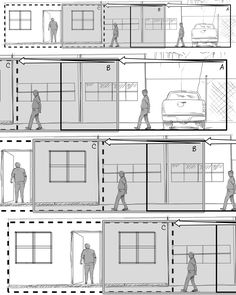 Storyboard Sequence Storyboards By Storyboard Artist Cuong Huynh