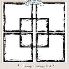 Set CU Grungy Border Overlays Vol 4 #CUdigitals cudigitals.comcu commercialdigitalscrapscrapbookgraphics #digiscrap