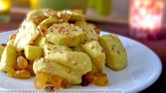 Petite salade de pommes Granny Smith au curry