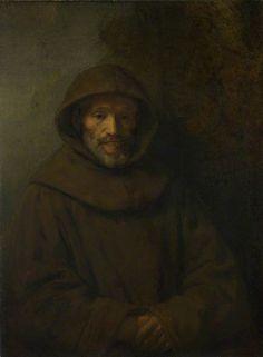 A Franciscan Friar, 1655, Rembrandt van Rijn