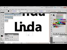 Adobe Illustrator CS5 Tutorial 9 | Text Logos - YouTube