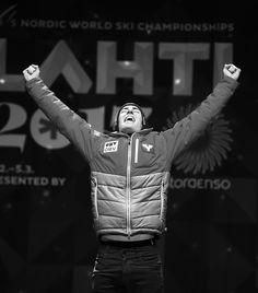 Stefan Kraft, Ski Jumping, Jumpers, Austria, Skiing, Winter Jackets, Sky, Ski, Winter Coats