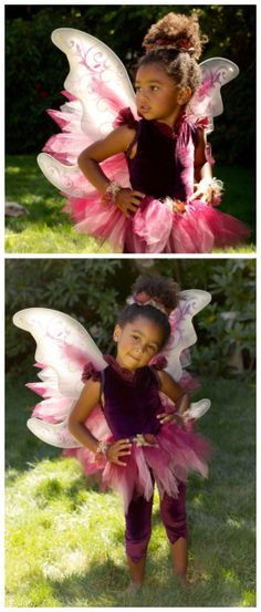 Pink FAIRY COSTUME features Petal Skirt BOTTLE OF FAIRY DUST fit American Girl