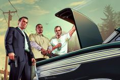 Grand Theft Auto Is Today's Great Expectations