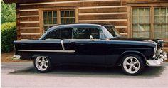 1955 Black Chevy