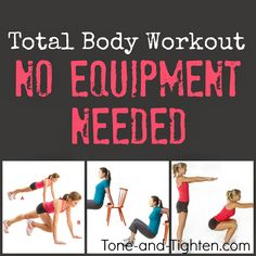Tone & Tighten: The Ultimate Bodyweight Workout- No Equipment Needed!