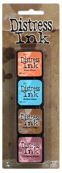Ranger - Tim Holtz - Distress Mini Ink Kit - Kit 6