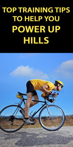 .TOP TRAINING TIPS TO HELP YOU POWER UP HILLS: http://thecyclingbug.co.uk/bugfeed/videos/b/weblog/archive/2015/05/05/cycling-power-training-tips-for-climbing.aspx?utm_source=Pinterest&utm_medium=Pinterest%20Post&utm_campaign=ad #cycling #hills #cyclingtips #climbing