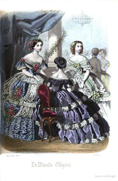 Townsend's monthly selection of Parisian costumes - Google Books