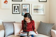Cindy's San Francisco studio is only 232 square feet, but she's created a cozy home.