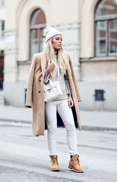 f7e2c9261a30 nice Модные ботинки тимберленды женские (50 фото) — С чем носить  Весенние  Наряды