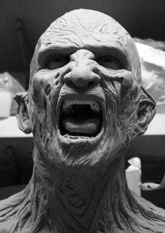 Awesome Freddy Krueger Sculpt from Nightmare On Elm Street 2
