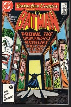 Detective Comics 566 Batman - Prowl The Dark Knight's Rogues Gallery