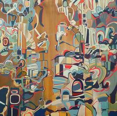 Art by Rebecca Moy in Park Schreck Gallery