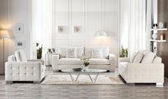 Supreme Modern Salon Takımı  #salon #koltuk #yildizmobilya #white #ofis #sofa #furniture http://www.yildizmobilya.com.tr/