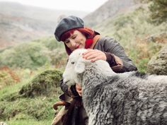 Meeting Herdwick sheep at Yew Tree Farm in the Lake District, a farm bought by Beatrix Potter in 1930 British Countryside, Beatrix Potter, Lake District, Vacation Trips, Sheep, Animals, Animales, Animaux, Animal