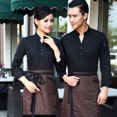 casual restaurant uniform - Google Search                                                                                                                                                     Más                                                                                                                                                                                 Más