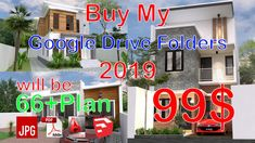 Home Design Plan with 4 Bedrooms Plot This villa is modeling by SAM-ARCHITECT With 2 stories level. It's has 4 bedrooms. Home Design Plan Narrow Lot House Plans, Modern House Plans, Narrow House, Home Design Plans, Plan Design, 3d Foto, Modern Villa Design, 4 Bedroom House Plans, Simple House Design
