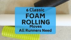 Why is foam rolling for runners so important? Find out. Plus 6 crucial foam rolling moves every runner needs to do regularly. Running Plan, Running Workouts, Running Tips, Running Training, Foam Rolling For Runners, Marathon Training Plan Beginner, Marathon Running, Runners Knee Pain, Cross Training For Runners