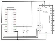 Learn how to use the Microchip MCP23017 port expander with Arduino.