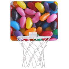 Jelly Bean Mini Basketball Hoop