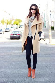 Un look así es perfecto para esos días un poco fríos