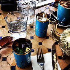 Tunisian tea and cappuccino at Moorish Blue in North Sydney ...