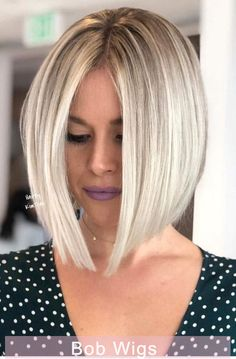 Middle Parted Blonde Medium Bob ❤️ Looking for some tips on how to get straight hair? See how you can straighten short, long and shoulder length haircuts. Cool color ideas are here, too! ❤️ Bob Hairstyles middle part Long Bob Haircuts, Long Bob Hairstyles, Trending Hairstyles, School Hairstyles, Straight Haircuts, Natural Hairstyles, Blonde Short Hairstyles, Medium Haircuts, Halloween Hairstyles