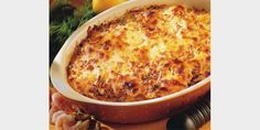 Valmista Lohipaistos tällä reseptillä. Helposti parasta! Lasagna, Feta, Macaroni And Cheese, Food And Drink, Ethnic Recipes, Lasagne, Mac Cheese, Mac And Cheese