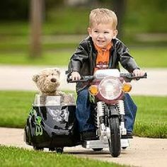 Little Teddy Biker