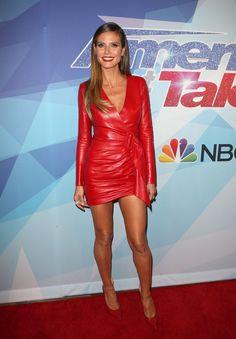 Heidi Klum Attends Americas Got Talent Live Show