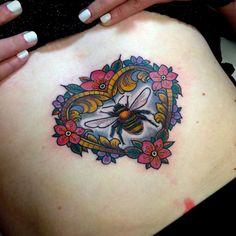 thievinggenius:  Tattoo done byFlo Nuttall.http://instagram.com/flonuttall