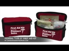 FEDERAL TYPE D FIRST AID KIT for workplace First Aid Kit, Workplace, Safety, Lunch Box, Type, Shop, Federal, Survival First Aid Kit, Security Guard