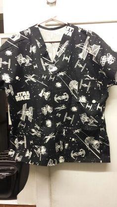 Star wars scrub top