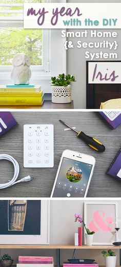 My Year with Iris, the DIY Smart Home {& Security} System