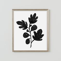 Fig Branch Print
