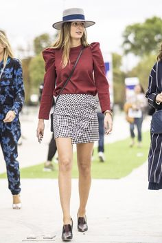 Street Style Stars Wearing the Same Clothes at Fashion Week   POPSUGAR Fashion
