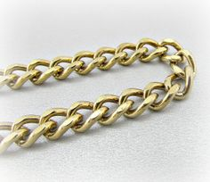 Vintage Mens Gold Chain Bracelet, Chunky Gold Chain Bracelet, Unique Cool Mens  Jewelry, 1960s Retro Modern Jewelry, Gift for Boyfriend Him 737489b622