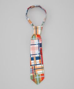 Madras Tie by Charming Little Prince on #zulily #cutiestyle