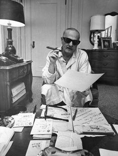 joeinct:    Darryl F. Zanuck Photo by Harry Benson 1967
