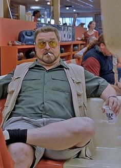 The Coen Brothers' classic, The Big Lebowski John Goodman. Big Lebowski Quotes, The Big Lebowski Movie, Joel And Ethan Coen, Ugly Americans, Coen Brothers, Movie Shots, Actor John, Music Film, Film Serie