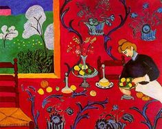 Henri Matisse. The red room