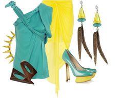 Turquoise & Yellow   ALYSSA23's stylebook on ShopStyle #whatabeautifullife