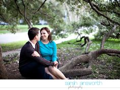 Houston Uptown Park Engagement. This is such a pretty picture!!