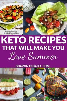 Diet Tips Summer shouldn't mean agonizing over carbs. These summer keto recipes are delicious and will make it easy for you to stick to the keto diet and enjoy your summer! Low Carb Recipes, Diet Recipes, Healthy Recipes, Atkins Recipes, Healthy Food Choices, Healthy Foods To Eat, Keto Foods, Keto Food List, Grilling Recipes