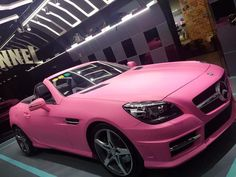 Just finished my girls dream.#benz #slk #car #TagsForLikes #instagood #pink #girl #daily by pigo_bb