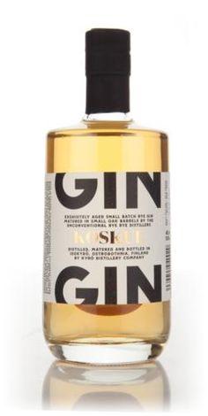 Koskue Aged Gin (Kyrö Distillery)
