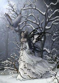 snow owl fairey.......this is gorgeous!!