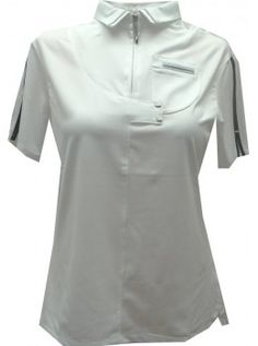 Jamie Sadock Basic NEW White Women's Solid Short Sleeved Shirt with Pockets -White