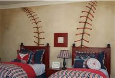 Ryan boys baseball bedroom decorating - Bing Images